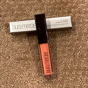 NWB Laura Mercier Lip Glacé in Orange Tulip